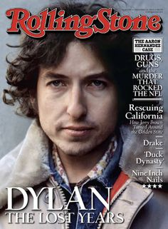 Bob Dylan covers Rolling Stone Magazine