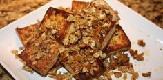 Pecan and Oat Crusted Tofu Post Image