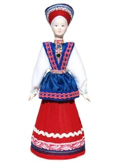 "GreatRussianGifts.com - Russian Porcelain Costume Doll ""Barbara"" Large, $29.95 (http://www.greatrussiangifts.com/russian-porcelain-costume-doll-barbara-large/)"