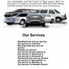 Top Limo Service NJ is specialized in Car Service To Newark Airport. We enjoy running this busy route as we have many jovial customers. As a matter of