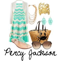 """""""Percy Jackson - Son of Poseidon"""" by fashion-for-heroes on Polyvore"""