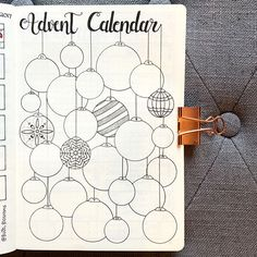 I saw this advent idea from the talented @journautical and I fell in love! I just had to make my own! As each day passes, you fill in an ornament. If you haven't checked out her account, please head over to her feed and do yourself a favor! It's a stunning account ❤️.........#advent #adventcalendar #bujo #bujospread #bujolove #bujolover #fabercastell #bujojunkies #bujoinspire #bujoaddict #bulletjournal #illustration #bulletjournaljunkies #doodles #doodle #bulletjournaladdict #journal…