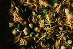 one pot lemon scallop pasta recipe