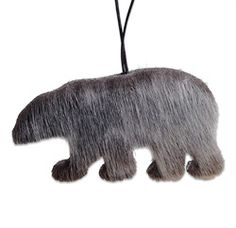Polarbear ornament made from sealskin Homemade Christmas, Christmas Crafts, Christmas Decorations, Christmas Ornaments, Skin Craft, Bear Crafts, Nativity Crafts, Native Indian, Winter Solstice