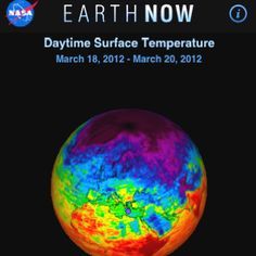 NASA's 'Earth Now' New App