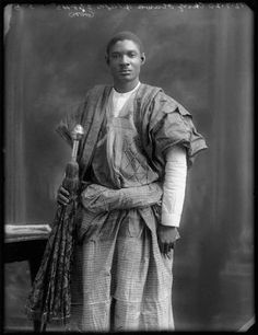 Sir Adeniji Adele II (1893-1964) was a Nigerian paramount ruler who held the title of Oba of Lagos. He was chosen vice president of the Nigerian Senate in 1960 and was also the president of the Lagos Town Council at the time.  He was among the special dignitaries that welcomed Queen Elizabeth to Nigeria in 1960