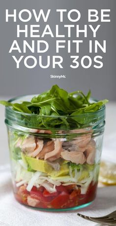 Learn how to be healthy and fit in your 30s.