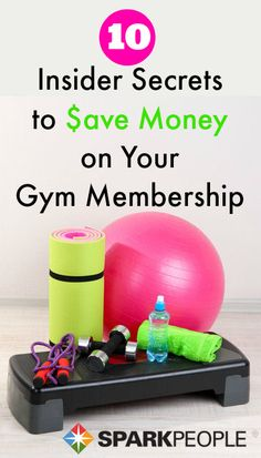 10 Ways to Save Money at the Gym. Looking to save some money at the gym? Here are 10 ways to put a little of that cash back in your wallet.  | via @SparkPeople