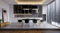 Apartment 47 on Behance Furniture, Interior, Apartment, Table, Home Decor, Kitchen, Conference Room Table, Interior Design
