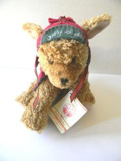 "81/2"" 2002 Buddy Hollyday Hallmark Stuffed Animal Christmas Toy Holiday Gift New #Hallmark"