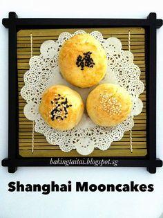 Baking Taitai: Shanghai Mooncakes 上海月饼