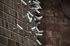 Artist Installs Flocks of Surveillance Cameras and Satellite Dishes in Outdoor Settings Alarm Systems For Home, Wireless Home Security Systems, Security Alarm, Security Camera, Prague, Alarm Companies, Best Alarm, Surveillance Equipment, Camera Surveillance