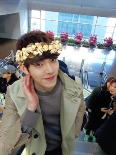 kim woo bin- hehehe so cute