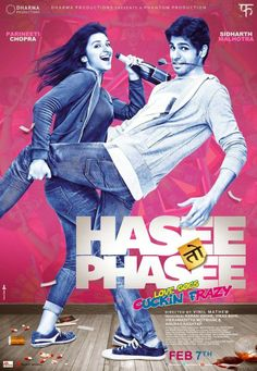 Hasee Toh Phasee is an upcoming bollywood romantic flick. The film is directed by Vinil Matthew featuring Siddharth Malhotra and Parineeti Chopra in the leads Movies 2014, Imdb Movies, Comedy Movies, Latest Movies, Film 2014, Movies Free, Fun Movies, Romance Movies, Watch Movies
