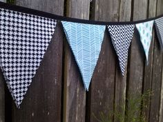 Mix prints! Chevron, Houndstooth, Herringbone and Polka Dots.  #rockstar #nursery #pinparty