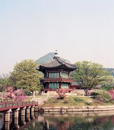 Hyangwonjeong Pavilionat Gyeongbokgung Palace, in Seoul, South Korea (palace admission about $3, royalpalace.go.kr). Want to see it for yourself? Round\u002Dtrip airfare to Seoul from the U.S. usually hovers around $1,200, but we found flights from L.A. and NYC in the $600$750 rangeif you dont mind a long layover in Peking or Shanghai (kayak.com). (Andrew Rowat) (From: A Bucket\u002DList Asia Trip You Can Afford)