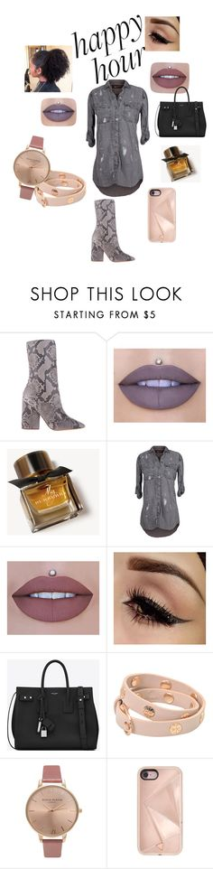 """""""Sauce 💦"""" by cathy-perry ❤ liked on Polyvore featuring adidas Originals, Jeffree Star, Burberry, The Nu Vintage, Yves Saint Laurent, Tory Burch, Olivia Burton and Rebecca Minkoff"""