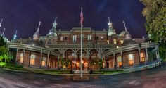 University of Tampa's Plant Hall was formerly known as the Tampa Bay Hotel, which opened in 1891 by Henry B. Plant.