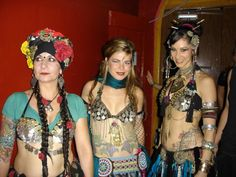 Hey lineage: Carolena Nericcio-Bohlman, Jill Parker, and Rachel Brice.