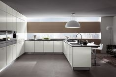 lovely-white-european-kitchen-cabinets-plus-wine-storage-plus-recessed-downlight-added-roller-blind-on-the-window-and-sink-plus-chandelier-featuring-wooden-laminated-floor-and-rugs.jpg 1.200×800 piksel