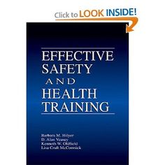 Is it potential to develop a enjoyable and effective training program? Most workers view attending a training session as they do go to the dentist, which leaves trainers feeling very unappreciated and frustrated. Effective Security and Well being Training can turn trainers into Santa Claus - everyone will look forward to their visits. The presents they carry: fascinating matters and trainee involving methods, wrapped in respect for employees and a consideration for their needs.