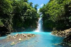 One of the many amazing waterfalls and jungles in Costa Rica. Make sure to pack you hiking shoes and your bathing suit.
