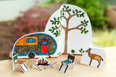 Made by Joel » Paper City Camping Scene!