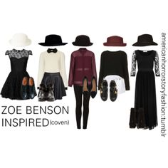 """Zoe Benson Inspired Essential Outfits"" by lilirishitalian on Polyvore"