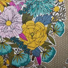 Voile Bouquet Khaki | Fancy Tiger Crafts