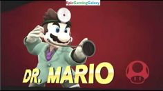 Doctor Mario VS Sonic The Hedgehog In A Super Smash Bros. For Wii U Online Match / Battle / Fight This video showcases Gameplay Of Dr. Mario VS Sonic The Hedgehog In A Super Smash Bros. For Wii U Online Match / Battle / Fight