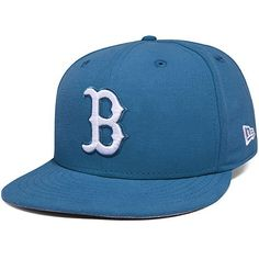new style 169dc c13e0 Boston Red Sox New Era Basic Blue Turk 59FIFTY Fitted Hat