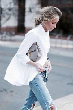 10 Style Staples Every Woman Should Have In Their Wardrobe: White Shirt