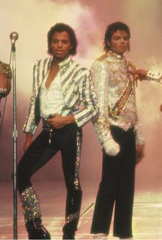 Marlon and Michael jackson victory tour opening
