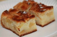 Gâteau aux pommes, sans oeufs