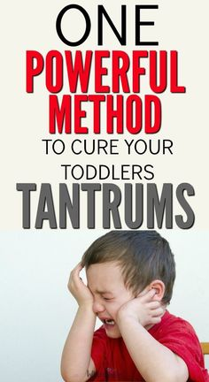 Handling your child's outbursts is one of the hardest things about being a parent. This is the magic way to finally get those meltdowns under control!'s only one step. via @awhimsiclelife