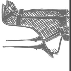 A roger vivier illustration