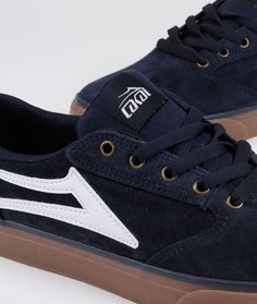 Lakai - Pico - Navy Gum Suede Skateboard, Navy, Sneakers, Shoes, Fashion, Men's Clothing, Tennis, Over Knee Socks, Men