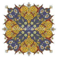 KingThrone  Mediterranean Motif by AlibabaVector on Etsy, zł8.00