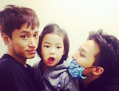 Tablo's Daughter Haru Wants to Buy G-Dragon * I can't wait for this. Haru indeed a cutest fan of GD. And i remember watching Tablo getting annoyed when Haru acts shy in front of GD in ep 14*