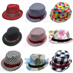 US $2.53 - 3.03Cheap hat braid, Buy Quality cap reservoir directly from China hat earflap Suppliers:  Fashion Chic Jazz Toddler Kids Baby Boy Girl Cap Cool Photography Fedora Hat Top 100% New & High Quality Color: as