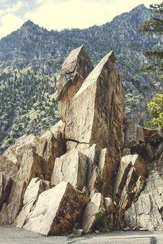 Timpanogos Cave, Utah.