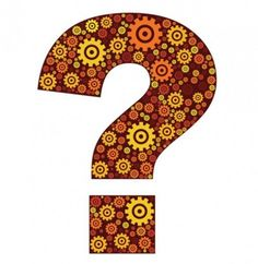 beautiful-question-mark-decorated-with-gear-shapes_279-10315
