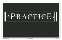 Odd Quartet Comics - Practice Repeat Poster