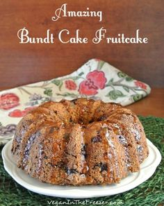 The easiest way to update fruitcake? Just change the shape. Bam! Get the recipe from Vegan in the Freezer.