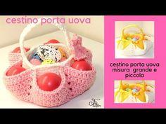 TUTORIAL: gallina porta uova uncinetto***lafatatuttofare*** - YouTube Easter Egg Basket, Easter Eggs, Free Crochet, Crochet Hats, Easter Crochet, Easter Crafts, Diy And Crafts, Crochet Patterns, Youtube
