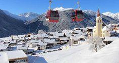 Skiën op de Golzentipp in skigebied Obertilliach
