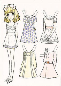 Macoto Takahashi Paper Doll