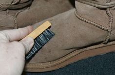 How to clean ugg boots :D