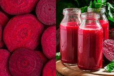 Sok z buraka wyleczy raka! Sprawdź jak go przyrządzić Hot Sauce Bottles, Salsa, Jar, Salsa Music, Jars, Glass