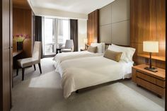 Room detail — Superior Place (with two beds). At Langham Place, Fifth Avenue.